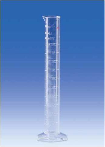 Мерный цилиндр, РМР, класс А, высокий, рельефная шкала