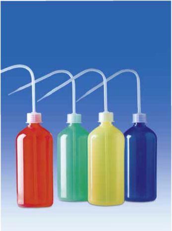 промывалки из цветного пластика