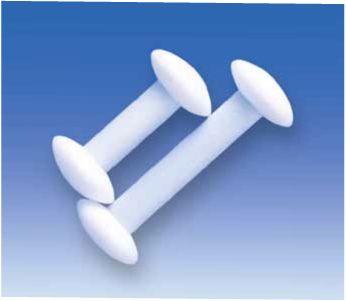 Магнитные перемешивающие стержни, гантелеобразная форма, PTFE