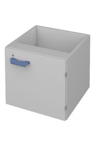 Навесная тумба из металла ЛАБ-PRO ТНМП 50.50.60 для столов на рамном основании