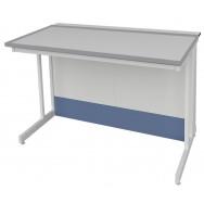 Стол пристенный низкий ЛАБ-PRO СПКн 90.80.75 TR-E20/27