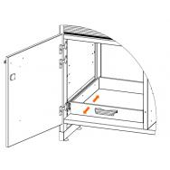 ЛАБ-PRO ВП ШВЛВЖ 120 выдвижной поддон для установки в тумбу