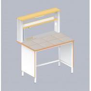Стол пристенный химический ЛАБ-1200 ПКМ
