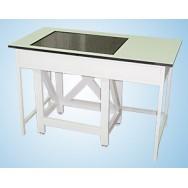 """Стол весовой большой 750 СВГ-1200л-М (ламинат/гранит, """"стол в столе"""")"""
