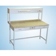 Стол пристенный физический 1200 СПФw-М (Wilsonart)