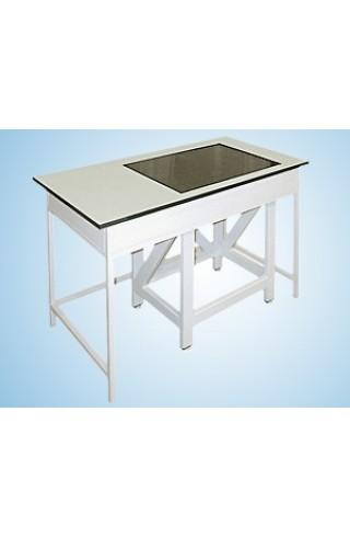Стол весовой 900 СВГ-1200п (пластик/гранит, стол в столе)