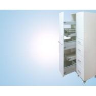 Шкаф лабораторный 400 ШРВ (для реактивов, 5 выдв. корзин, фланец 100 мм)