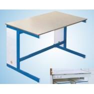 Стол большой с блоком розеток 1200/900 СЛВк-М с роз. (керамика KS-12, 2 ящика, эл.блок)