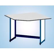 Стол лабораторный угловой 1200/900 1200 УСЛw-У (Wilsonart)