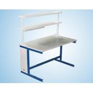 Стол пристенный физический 1200 СПФw-У (Wilsonart)