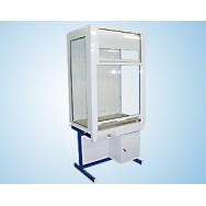 Шкаф вытяжной демонстрационнный, со стекл. стенками 1200 ШВДУw (Wilsonart, без воды)