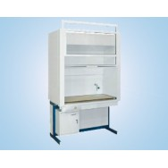 Шкаф вытяжной модульный, с мет. стенками 1200 ШВМУд (Durcon с бортиком, без воды)