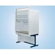 Шкаф вытяжной модульный универсальный 1800/900 ШВМУдв (Durcon с бортиком, с водой)