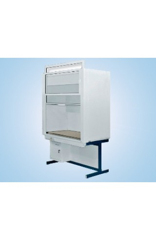 Шкаф вытяжной модульный универсальный 1800/900 ШВМУк (керамика KS-12, без воды)
