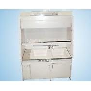 Шкаф вытяжной 1200 ШВд-гм (Durcon, мойка глуб. 280 мм из Durcon)
