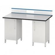 Стол для хроматографа/спектрометра ЛАБ-PRO СХ-Т2 150.80.90/105 LA (2 одинарные тумбы)