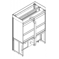ЛАБ-PRO СВТ-ШВ 180 - Система вентиляции тумбы для ЛАБ-PRO ШВ общего назначения длиной 1800 мм