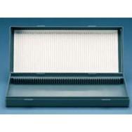 Контейнеры; Ящик для для предметных стекол для микроскопии (PS)