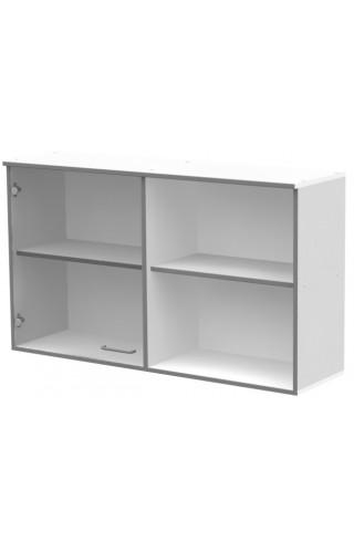 ЛАБ-М НШС-1 120.35.70 Шкаф хранения с 1 стеклянной дверкой и открытым правым отделением