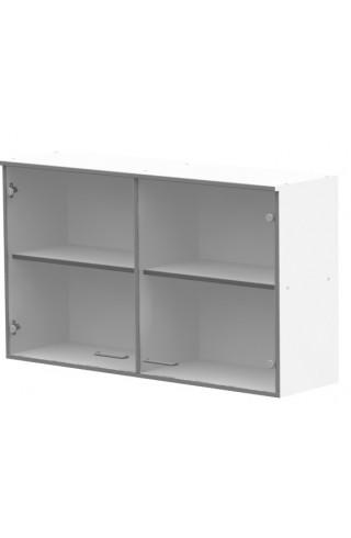 ЛАБ-М НШС-2 120.35.70 Шкаф хранения навесной с 2 стеклянными дверками